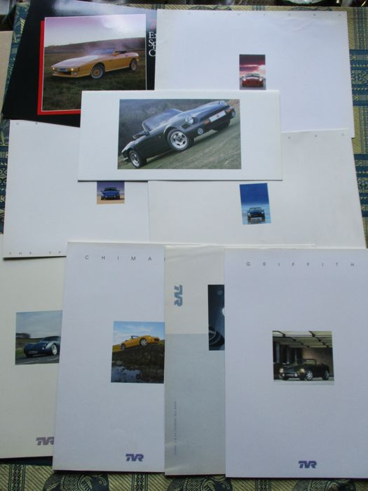 Brochures / catalogues - TVR - 1988-2004