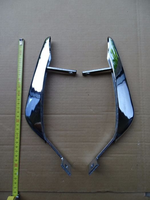 Nice pair of chromed vintage bumpers - NO RESERVE