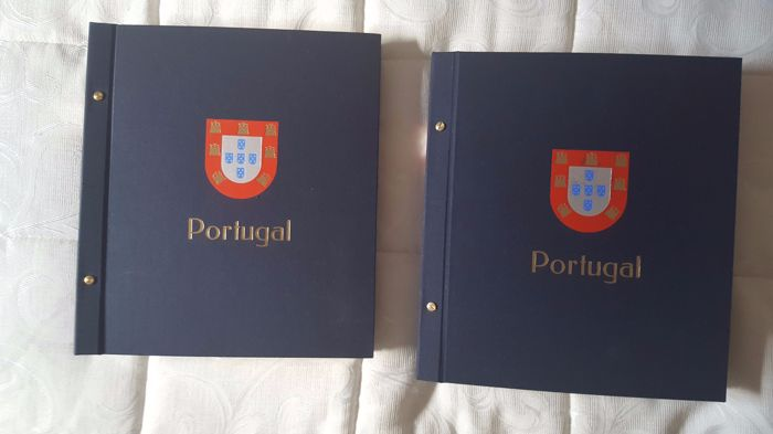 Portugal 1853/2008 - Collection of stamps in 2 Davo albums.