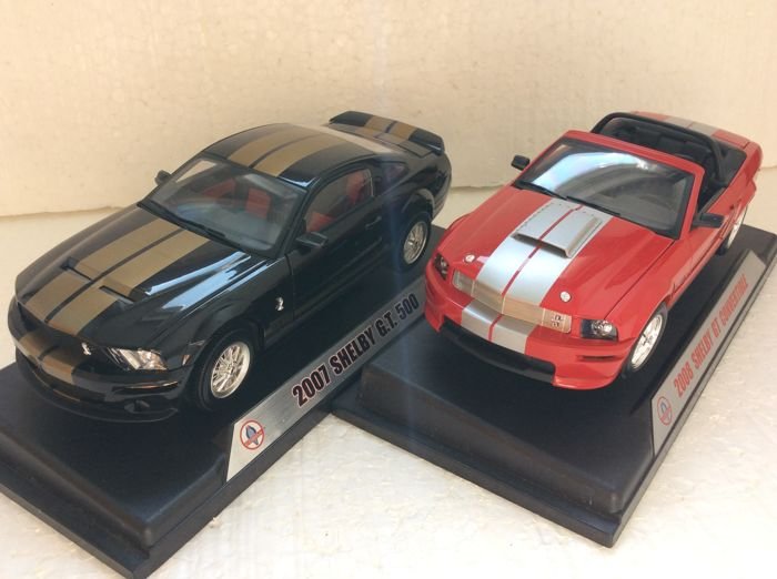Other - Other - Shelby Collection - Scale 1/18 - 2007 Shelby GT500 40 th anniversary & 2008 Shelby GT Convertible