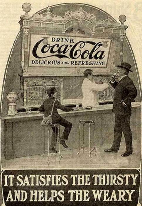 Large collection of antique Coca Cola prints (21)