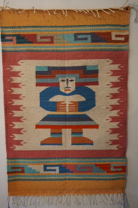 Navajo carpet Native American 62.5/95cm