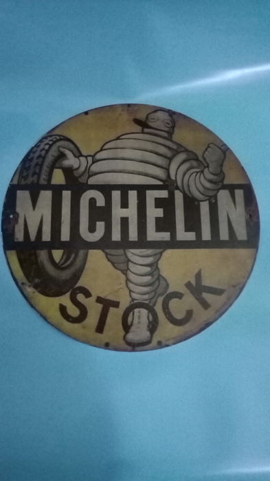 Michelin plaque of the 1960s
