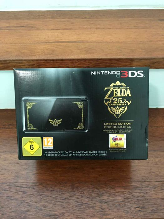 Legend of Zelda 25th Anniversary Limited Edition 3DS console