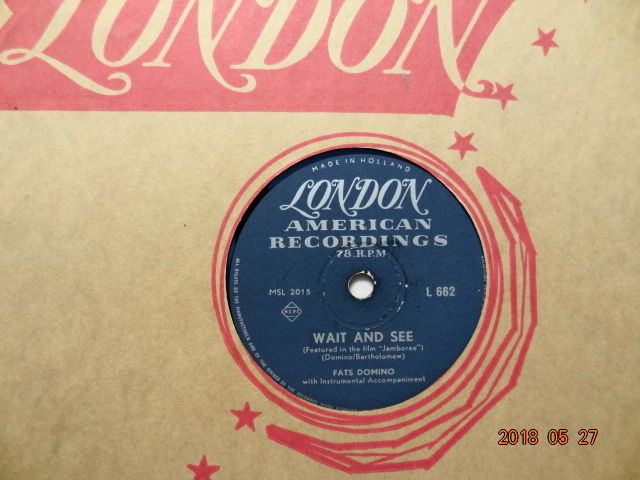 21 x 78 RPM Records with  Rock'N'Roll and Popmusic from the 1950's.