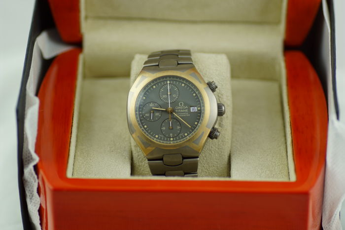 Omega - Seamaster Polaris Chronograph XL - 58944000 - Heren - 2000-2010