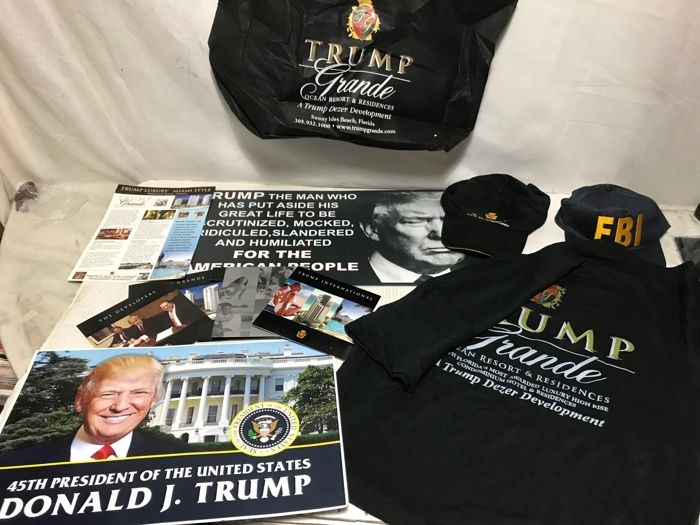 Donald J. Trump collectibles