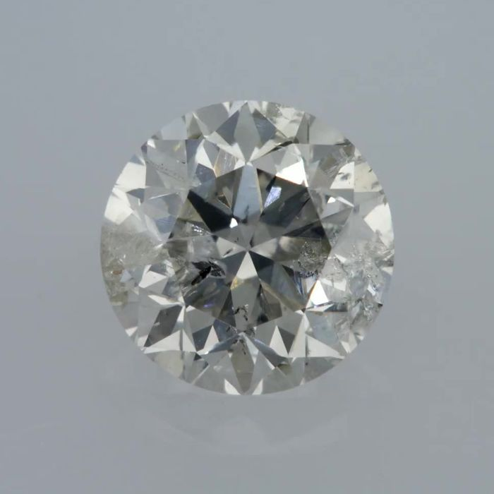1.03 Carat G SI3 Round Brilliant Natural Diamond Certified & Sealed - Very Low Reserve!