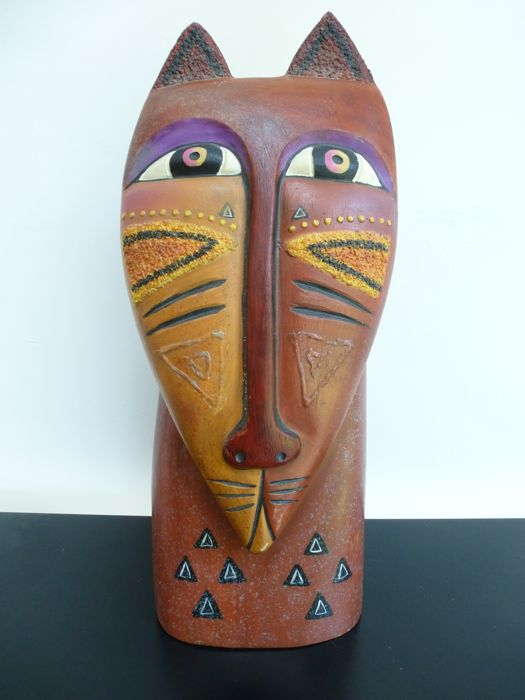 Laurel Burch - Feline Cat statue XL