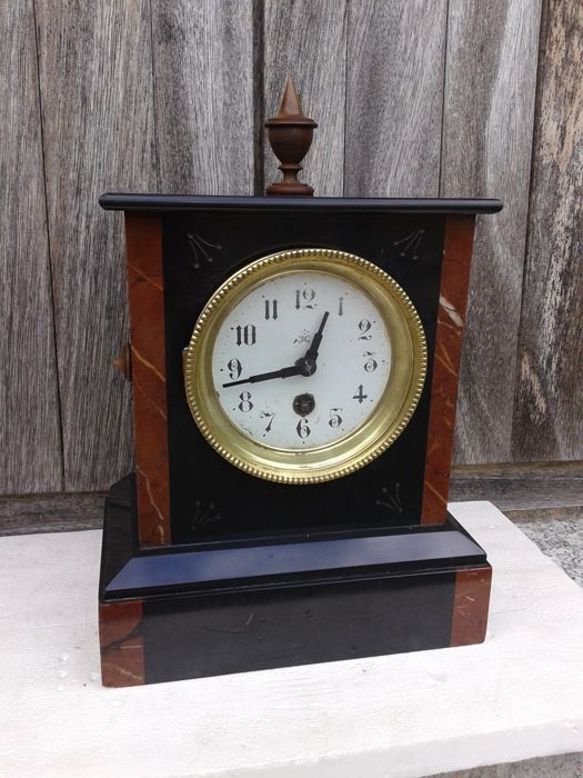 French Japy Freres mantel clock - Mid 19th century