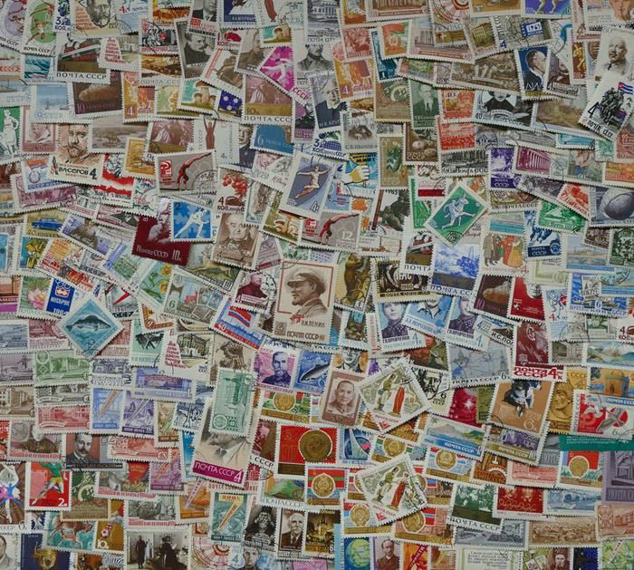 Russia, Soviet Union - approx. 2500 loose stamps