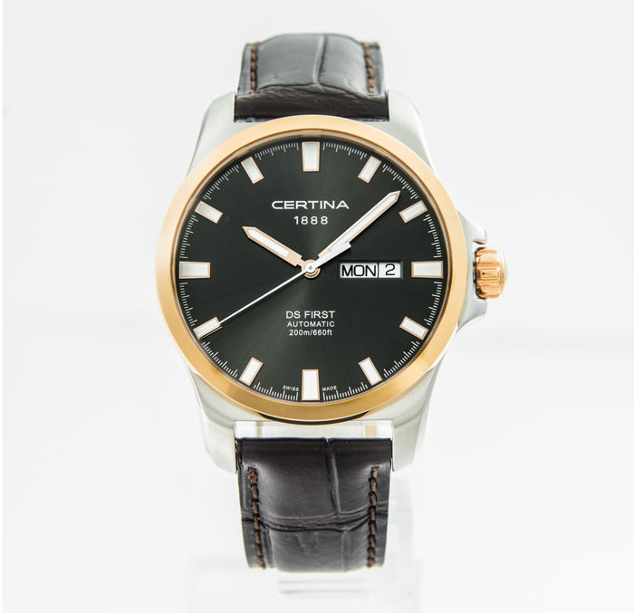 Certina - DS First Day-Date Automatic Black Dial - C014.407.26.081.00 - Heren - 2011-heden