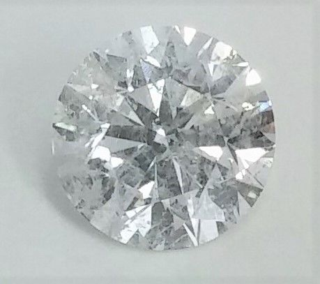 3.07 carat  -Round Brilliant Cut  -  E color  - SI2 clarity  - 3 x EX - Natural Diamond  - With AIG Big Certificate + Laser Inscription On Girdle