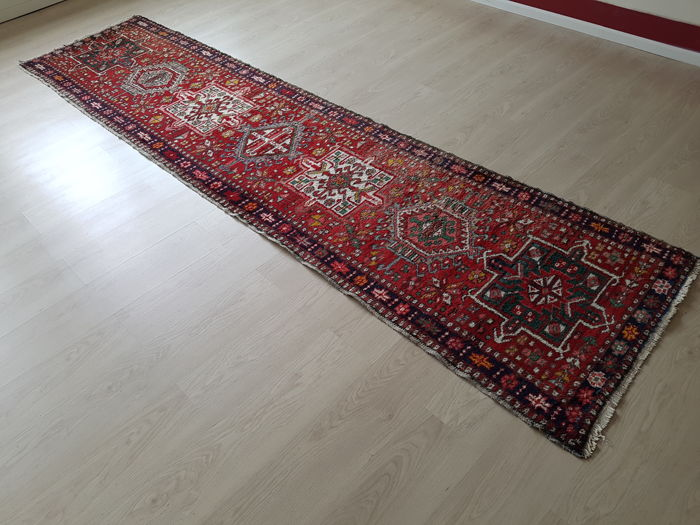 Old Persian runner, 346 cm x 85 cm