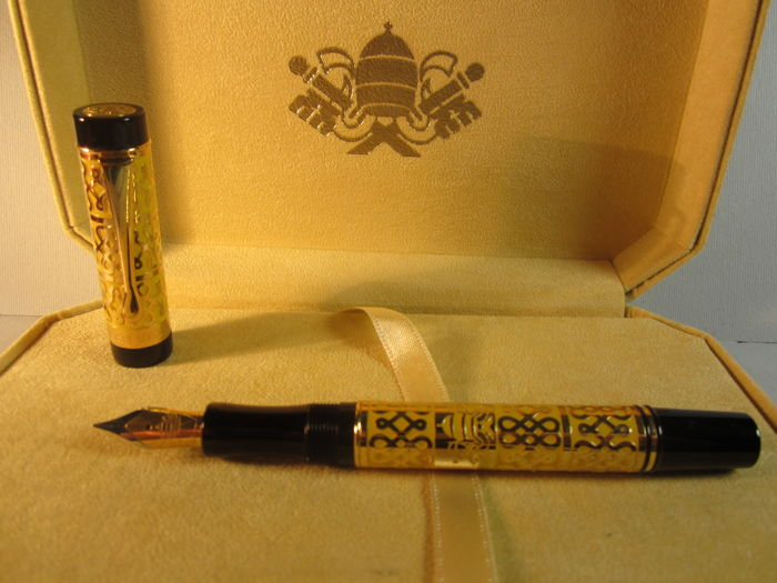Rare 'Vatican Museum' fountain pen, limited edition Original box and warranty Very good condition, never used