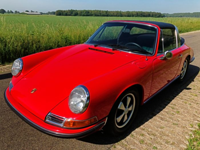 Porsche - 911 L Targa softwindow - 1968
