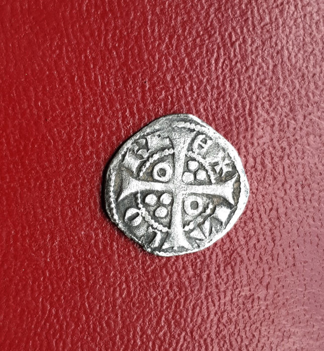 Spain - Jaime II Medieval Billon Coin - Barcelona BAR - QUI - NO - NA - 1291 / 1327 - Very rare