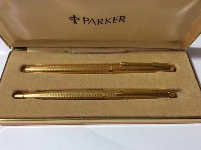 Parker 75 Grain d'Orge set
