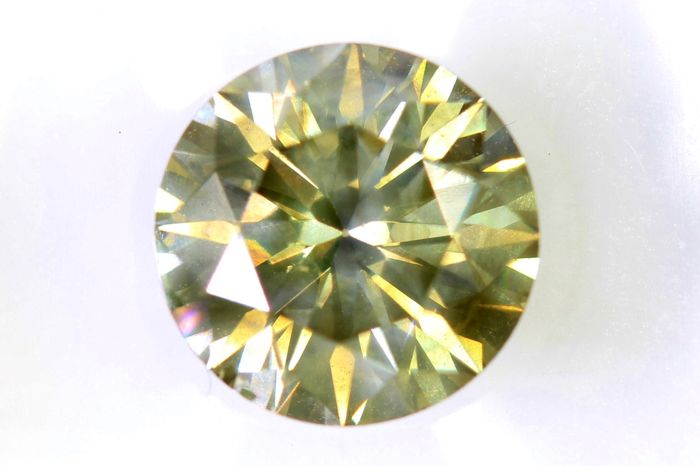 * NO RESERVE PRICE * - AIG Sealed Diamant - 1.54 ct - Fancy Light Yellowish Brown - SI2