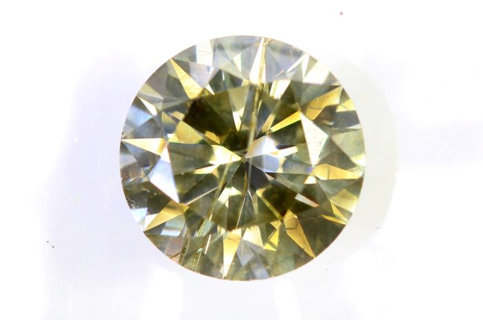 AIG Diamant - 1.92  ct - Fancy Brownish Yellow