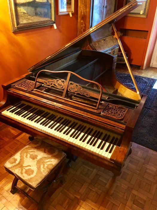Rare piano J. Heitzmann & Sohn in Wien - 19th century