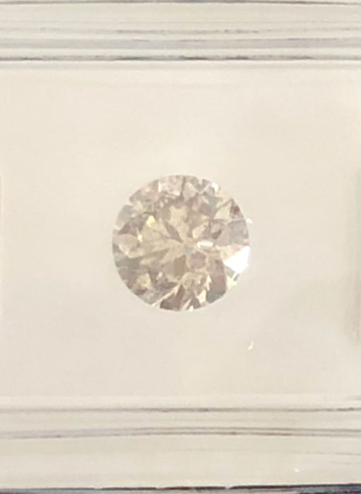 0.97 ct ROUND Brilliant Natural Diamond  G SI3 AIG Lab