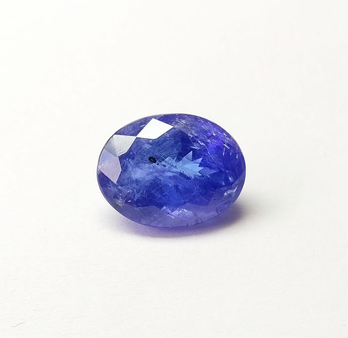 Tanzanite Intense Violetish Blue 7.91  ct