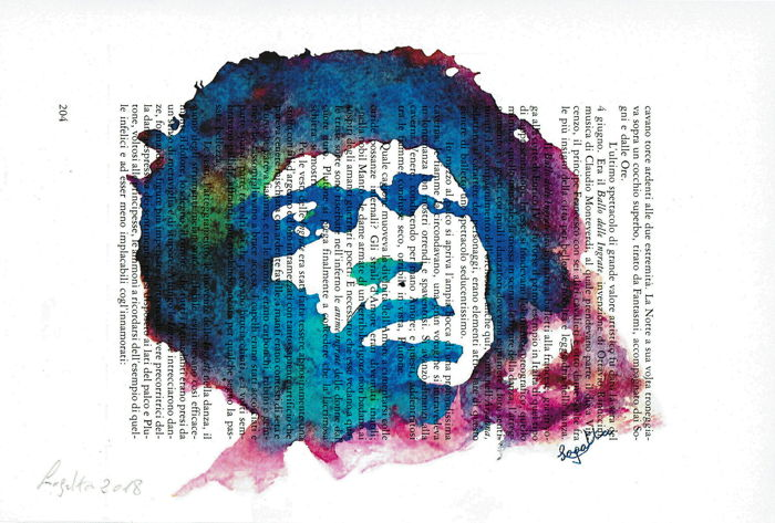 Graphic art; Hendrix,Prince,Jackson,Presley,Winehouse,Mercury,Madonna,Marley,Houston - 2018