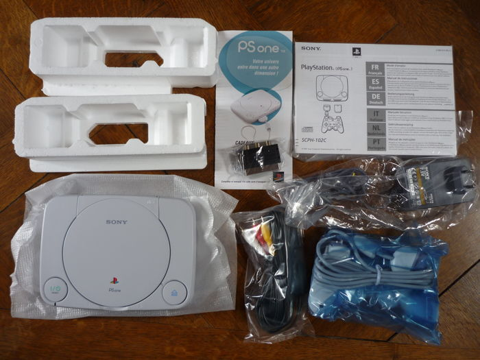 PS ONE -  New in box, never used, all accessories are sealed.