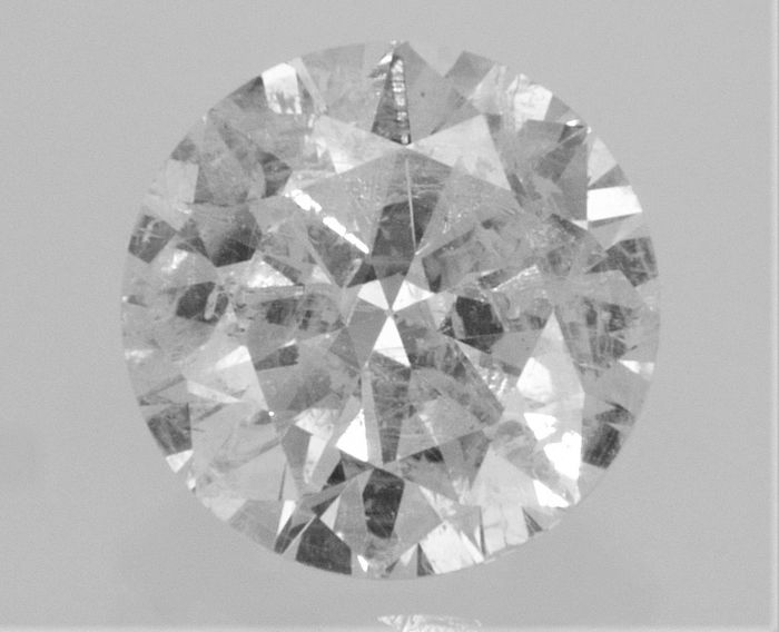 Round Brilliant Cut  - 1.13 carat - F color - SI2 clarity- Comes With AIG Certificate + Laser Inscription On Girdle.
