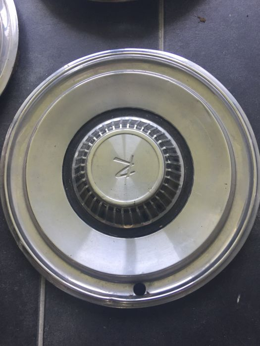 Classic car parts - 1960s hubcap of the Rambler