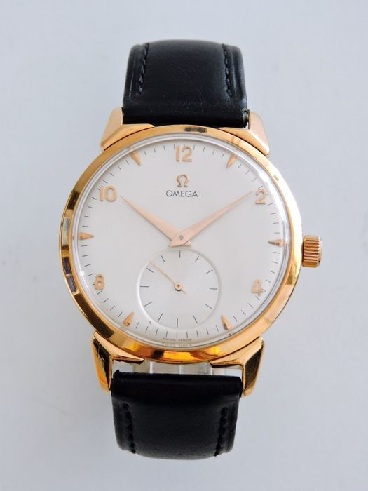 Omega - 26.5SO.B - 38mm Rose Gold Antique & Vintage Men's Watch - Heren - 1901-1949