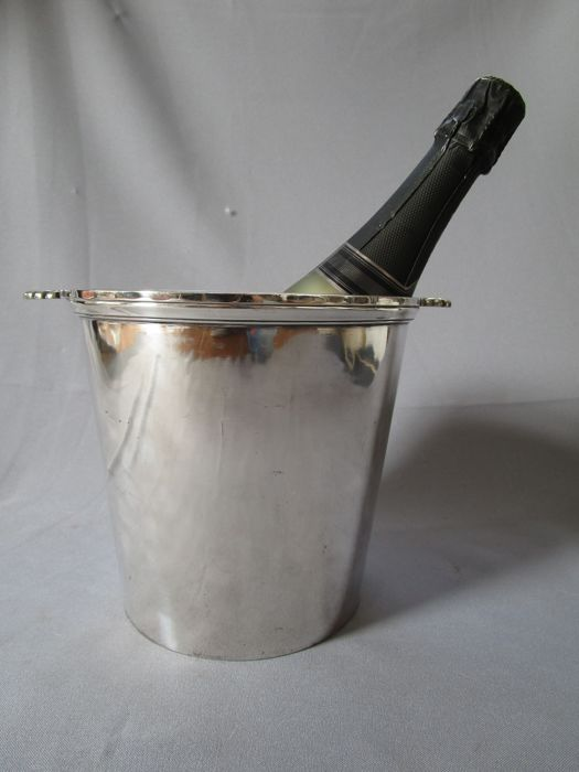 Orfévrrie Fallon Namur Belgium - silver-plated champagne cooler - 1st half of the 20th century - marked and numbered: Fallon