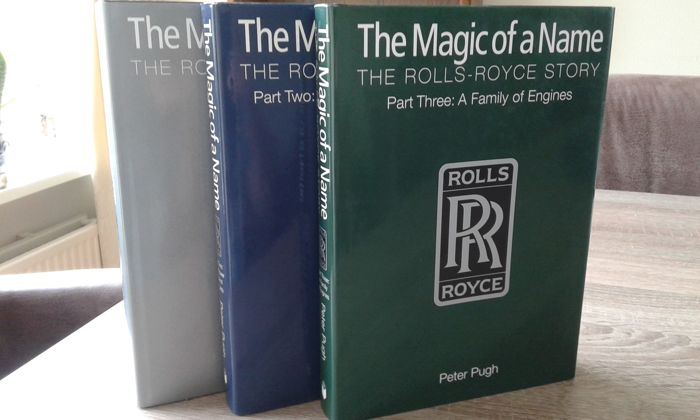 """The Magic of a Name """"The Rolls-Royce Story"""""""