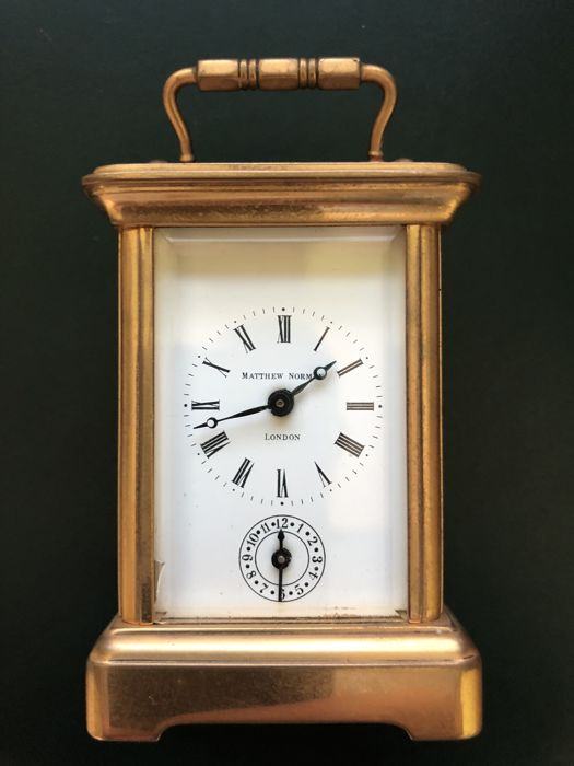Matthew Norman clock