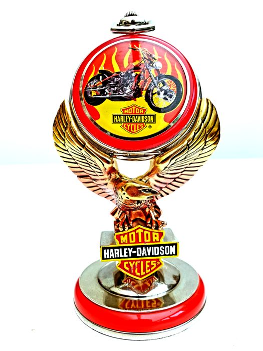 "Official Collector's Harley Davidson ""Billy Bike"" from Easy Rider watch on Original Stand"
