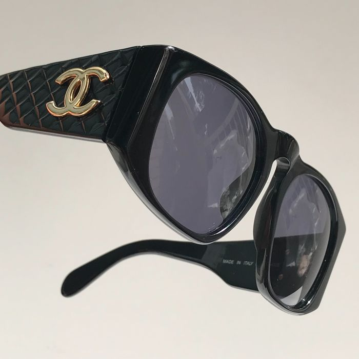 Chanel Quilted Sunglasses Vintage Catawiki