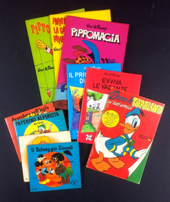Topolino - Piccoli albi di Topolino - Stapled - Mixed Editions