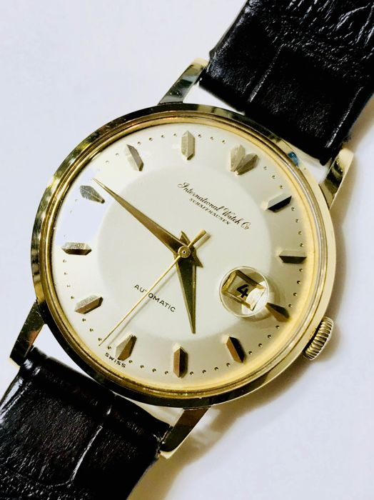 IWC - IWC (18K Yellow Gold & 35 mm) Vintage Watch - Unisex - 1970-1979