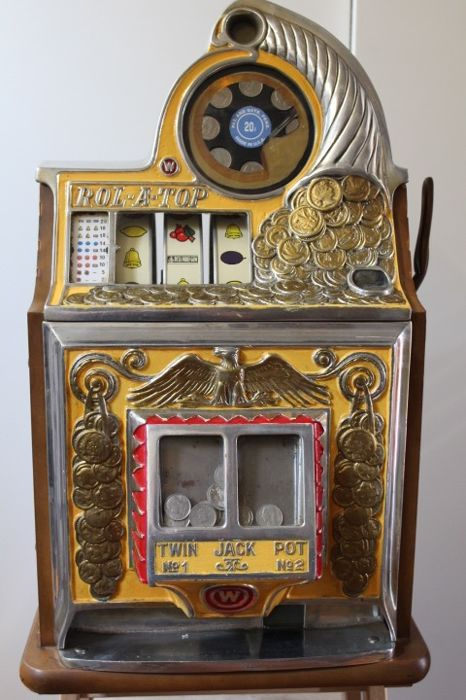 Roll a top slot machine for sale