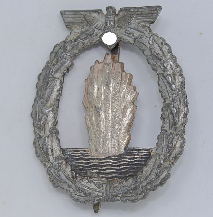 Combat Badge of Minesweepers, Submarine Hunters and Escorts