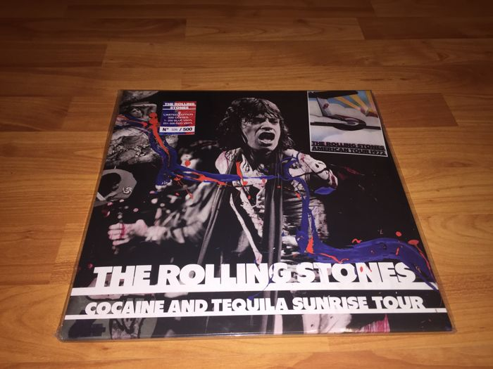 The Rolling Stones - Cocaine And Tequila Sunrise Tour LP