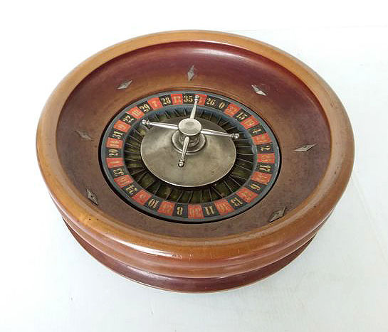 An old roulette game, Belgium, early 20th century