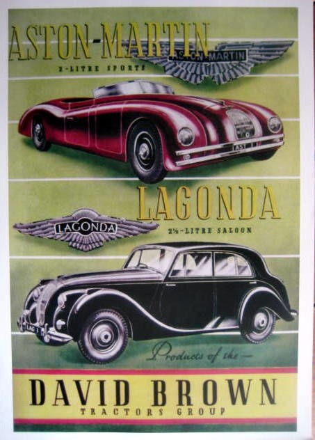 Decorative object - Aston Martin - Lagonda - David Brown - Limited 50  - 1949 (1 items)