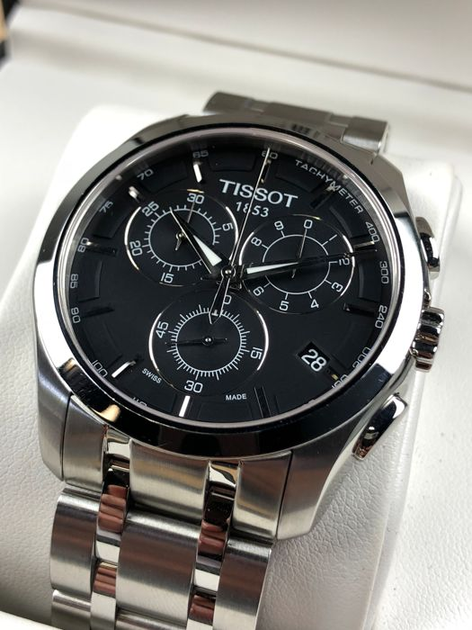 "Tissot - Couturier Chronograph - ""NO RESERVE PRICE"" - T035617 A - Heren - 2011-heden"