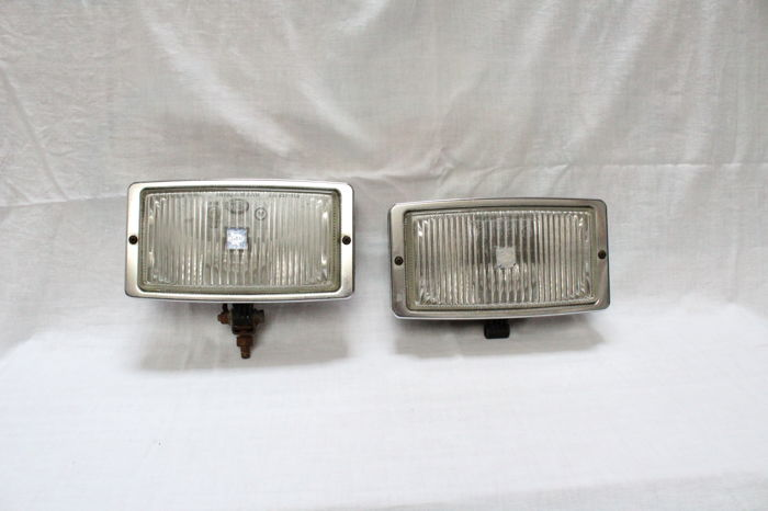 Pair of Hella Fog lights  - Germany - ca.1975