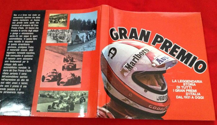 Lot of 2 excellent books 'GRAN PREMIO' GP Italy from 1921 to 1977 + American GRAND PRIX Racing 1997