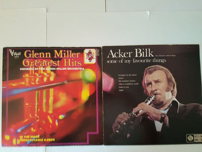 Jazz \ Easy Listening : 10 VA LP's from Glenn Miller till Perry Como.