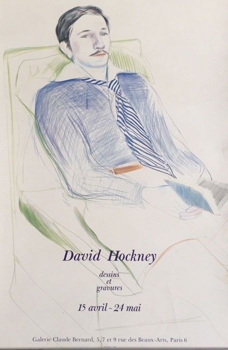 David Hockney - Jacques de Basher de Beaumarchais