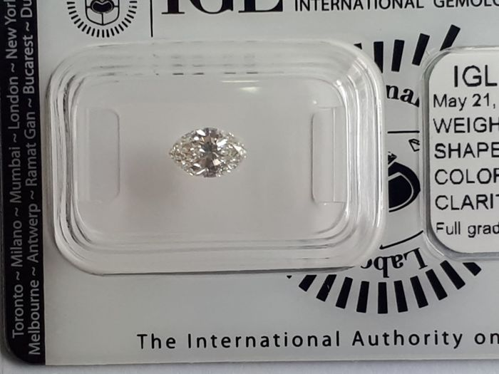 0.71  g vvs1 marquise natural diamond